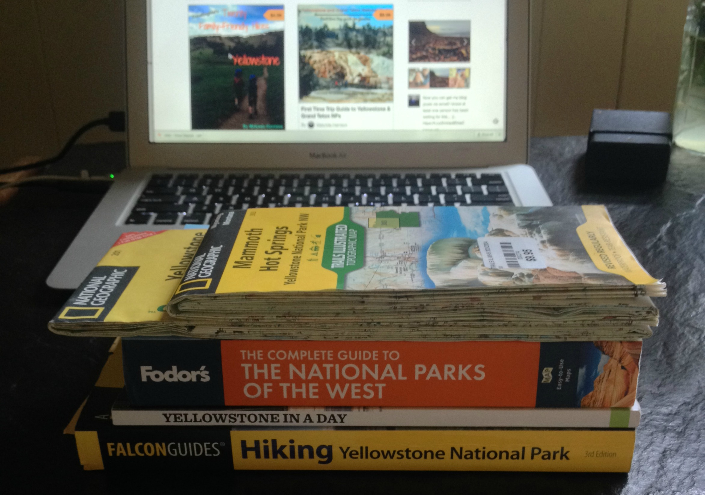 Best guidebooks for Yellowstone