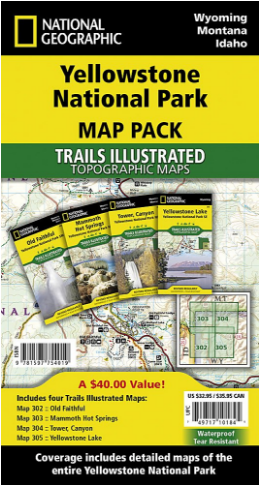Yellowstone National Park Map