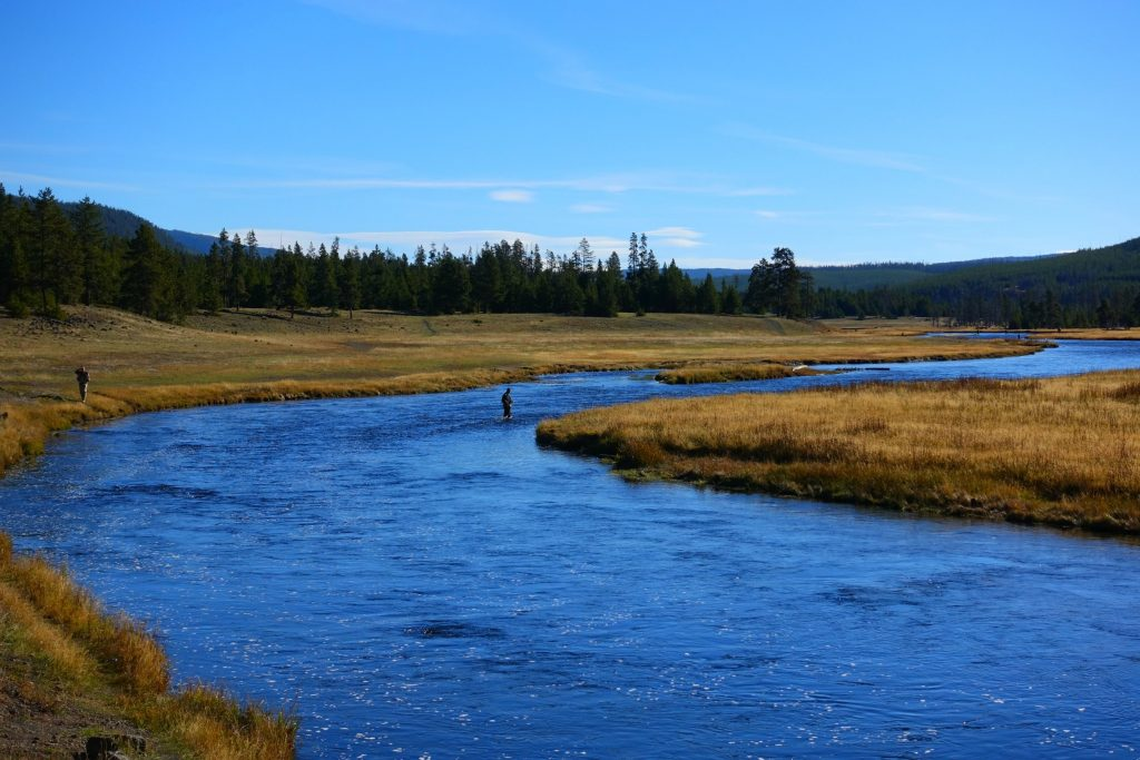 anglers in madison river