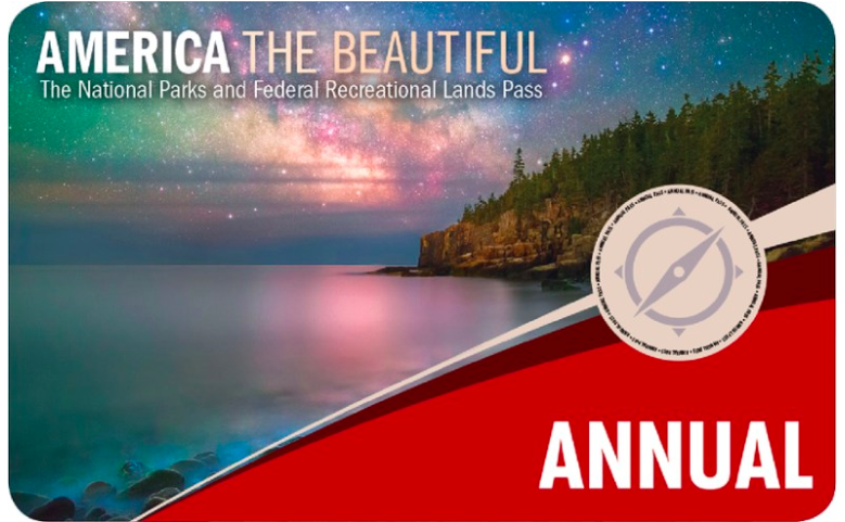 America The Beautiful National Park Pass