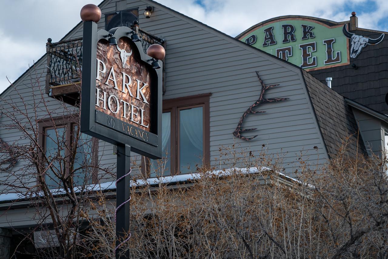 Yellowstone Park Hotel in Gardiner Montana