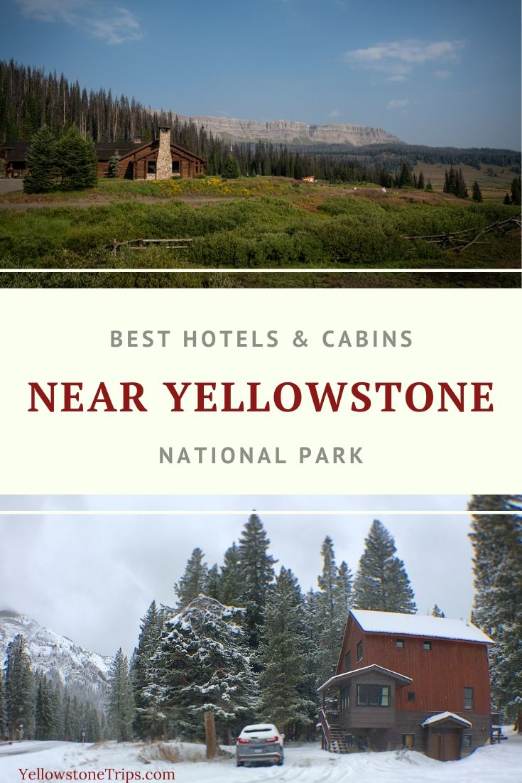 Read reviews and book the best places to stay near Yellowstone National Park. From hotels to resorts to cabins, and dude ranches, we review the best accommodations in Yellowstone's gateway towns. | Yellowstone Lodging | Yellowstone Hotels | Yellowstone Cabins | where to stay near Yellowstone | #yellowstonenationalpark #accommodation #yellowstone #traveltips #hotels  #yellowstoneguide #yellowstonetrips