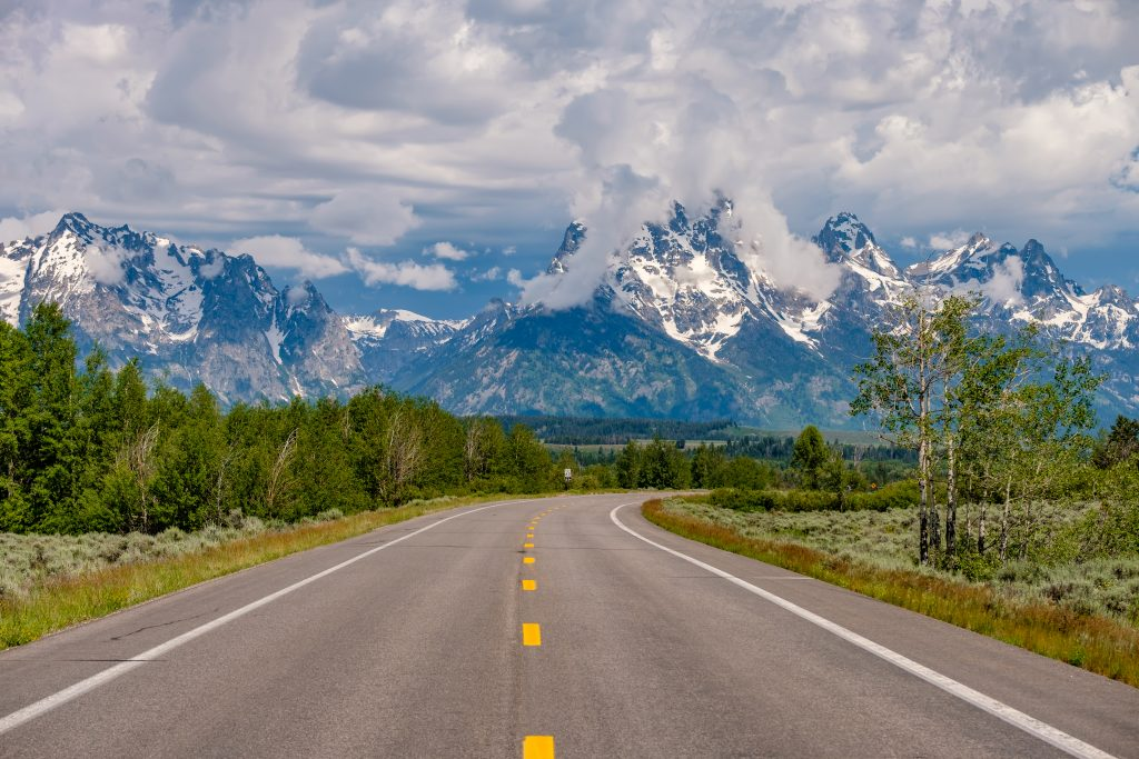 road trip to grand teton national park